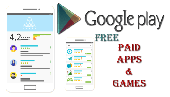 Free Download PAID APPS, GAMES From Google PlayStore