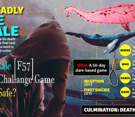 Blue Whale [F57] Suicide Challange Game