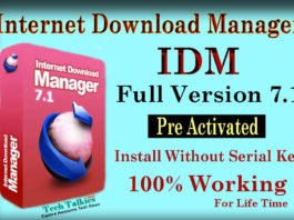 IDM Full Version 7.1 Pre Activated Download