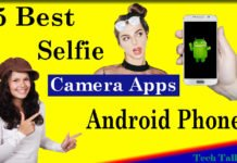 5 Best Selfie Camera Apps for Android Phones