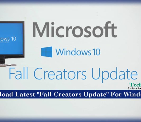 Download Latest Fall Creators Update For Windows 10 [Microsoft]
