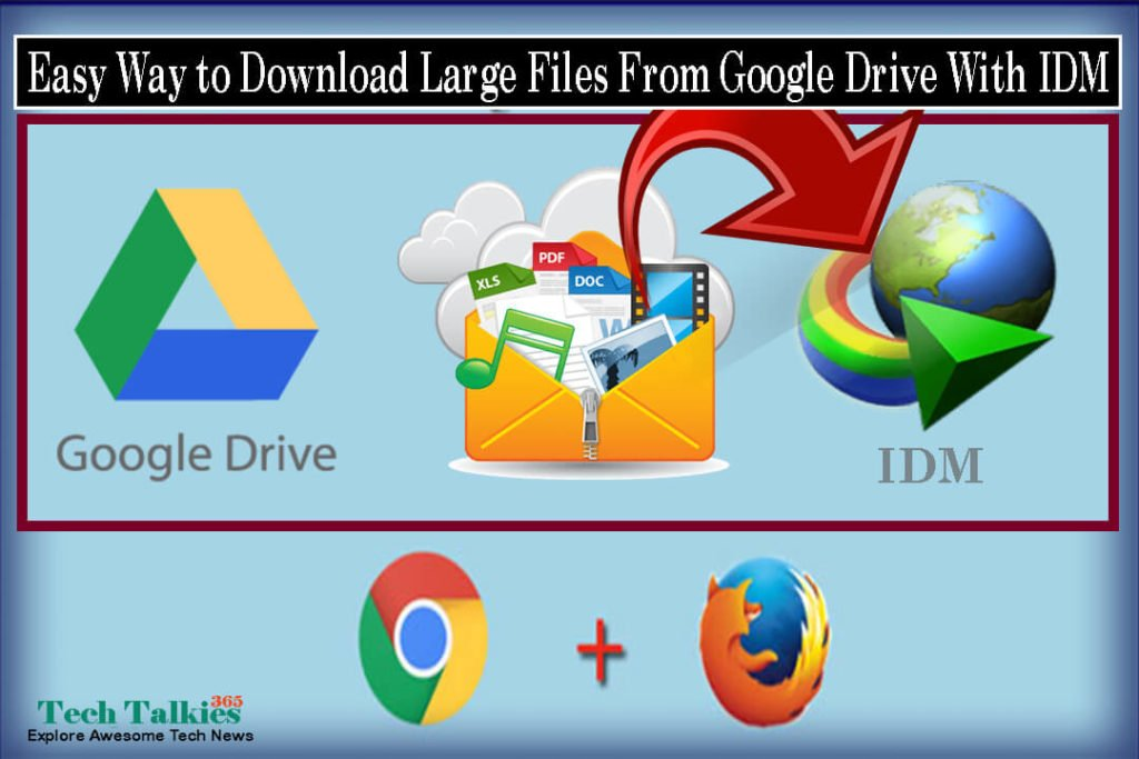 How to Download Google Drive's Large Files With IDM | Easy Way