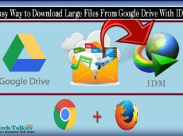 Easy Way to Download Large Files From Google Drive With IDM