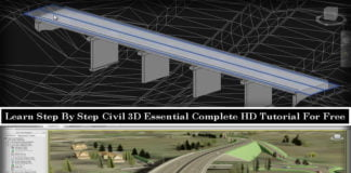 Free Download Civil 3D Essential Complete HD Tutorial