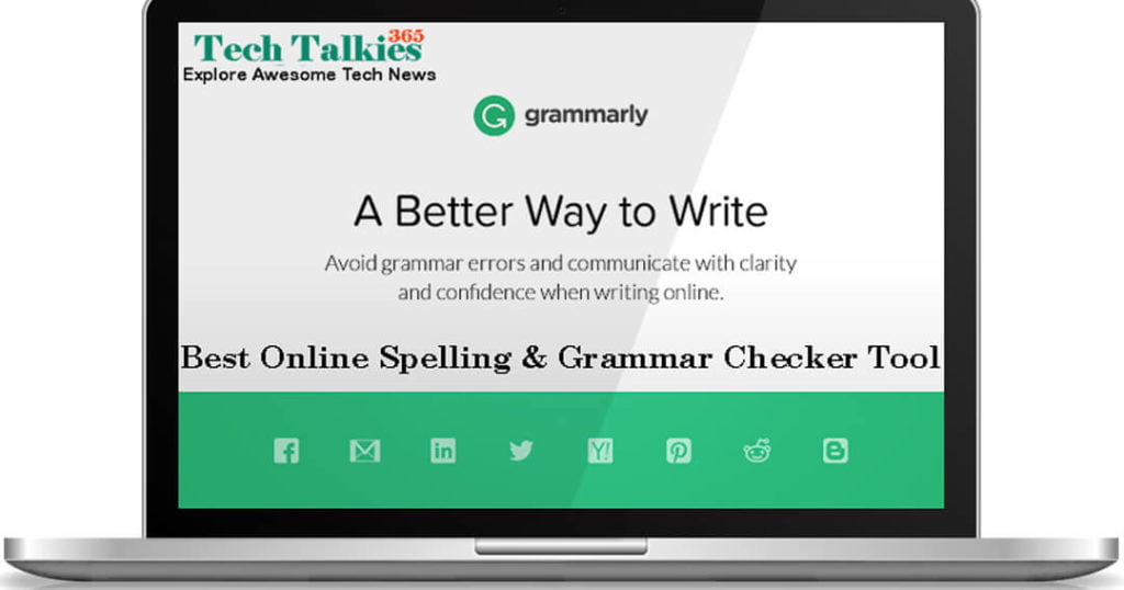 Grammarly - Best Online Spelling & Grammar Checker Tool