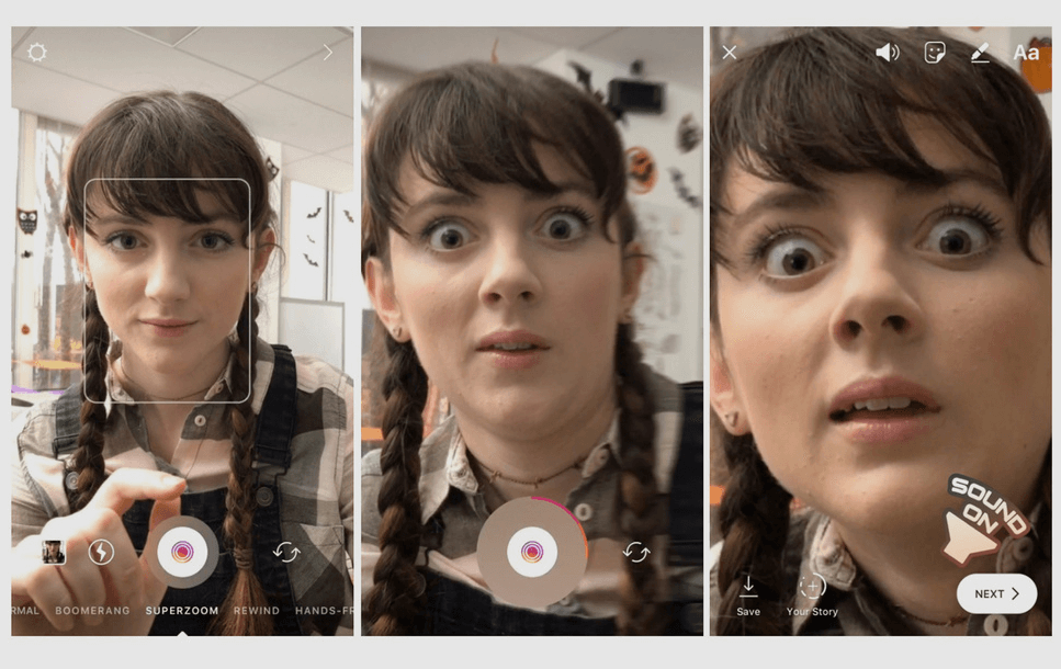 How to Use Instagram Superzoom Face Filters and Stickers Feature