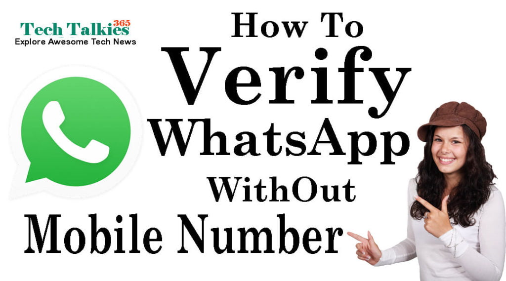 How to Verify Whatsapp Without Mobile Number