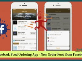 New Facebook Food Ordering App - Now Order Food from Facebook App