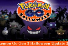 Pokemon Go Gen 3 Halloween Update 2017