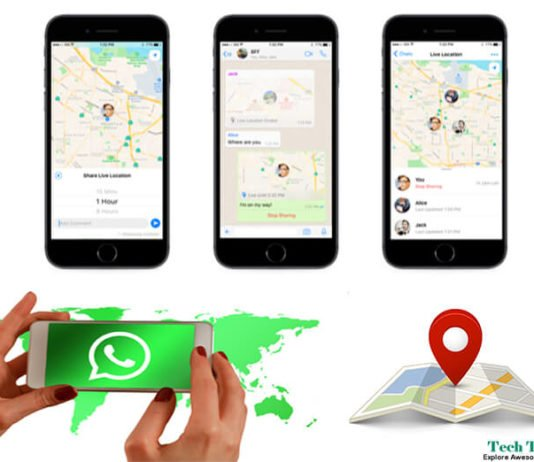 Share Live Location In Real Time on WhatsApp [2017]