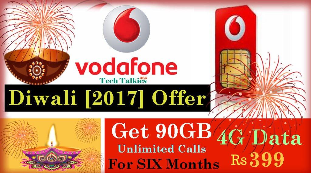 Vodafone Diwali 2017 Offer