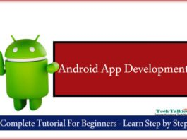 Android App Development Complete Tutorial For Beginners Free Course Learn Step by Step