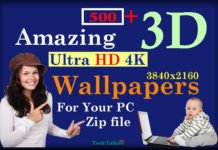 Download 500+ 3D Wallpapers in a ZIP File (HD Wallpapers 2017)