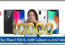 How to Buy iPhone X With Rs. 10,000 Cashback via Airtel Online Store