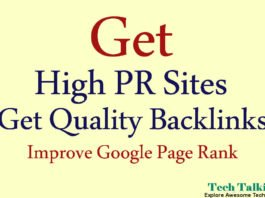 List of 15 High PR Sites to Get Quality Backlinks