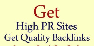List of 15 High PR Sites to Get Quality Backlinks