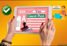 Quick Approval Free Guest Posting and Article Submission High DA Sites 2017