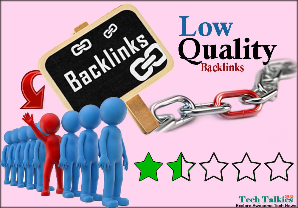 What Actually are Low Quality Backlinks 2017