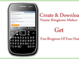 Create & Download Name Ringtone Maker - Free Ringtone Of Your Name
