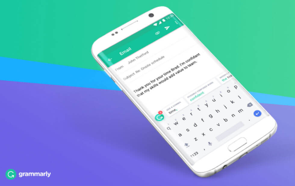 Grammarly Virtual Keyboard App for Android & IOS Grammar Checker