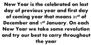 Happy New Year 2020 Speech and Essay