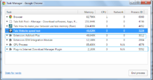 How to Make your Browser use Less Memory Ram