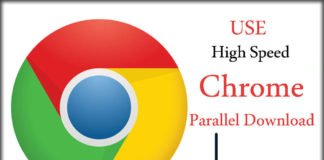 Use Chrome Parallel Download on Android