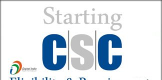 Starting A CSC Eligibility and Requirements