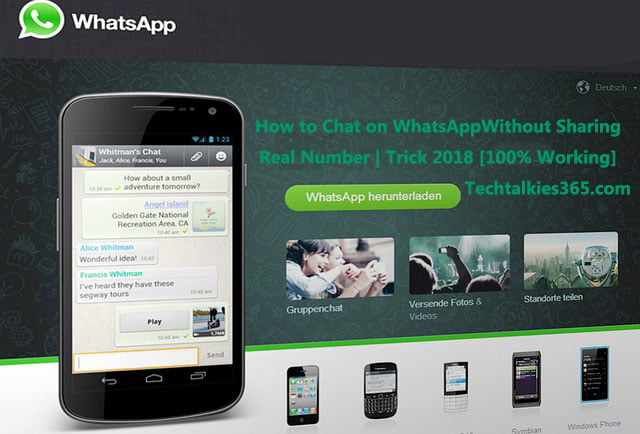 How to Chat on WhatsApp Without Sharing Real Number