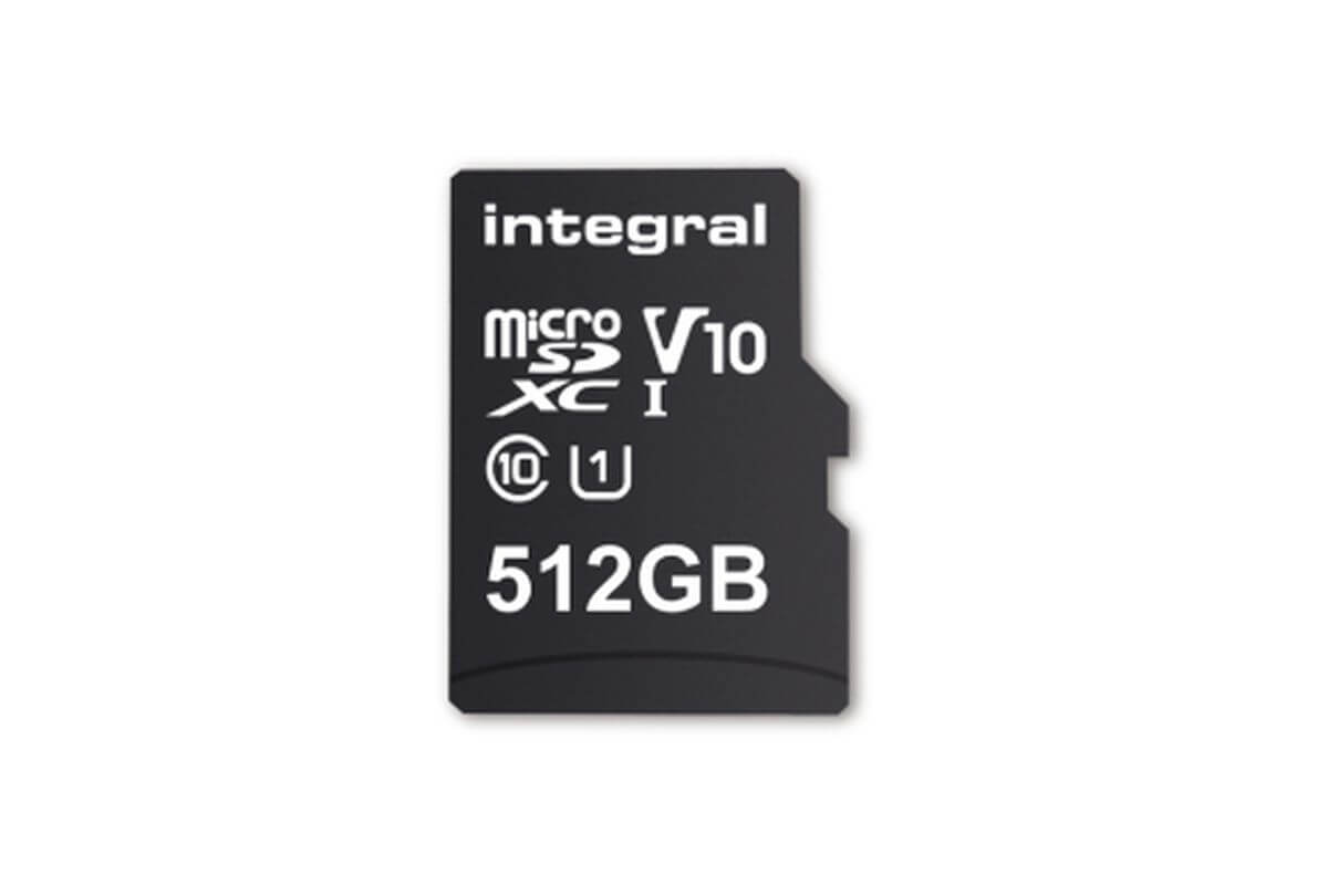 World's Largest Integral 512GB MicroSD [SDXC UHS-I U1] Card Ever