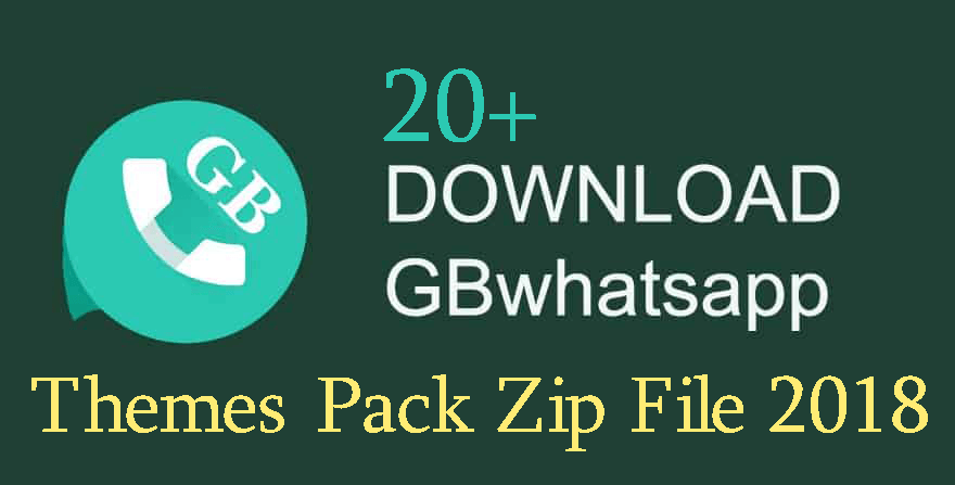 Free Download the GBWhatsapp Themes Pack Zip File 2018