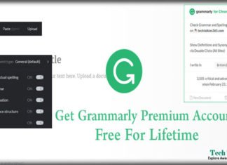 Get Grammarly Premium Account Free For Lifetime 2018