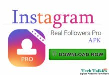 Download Instagram Real Followers Pro APK Hack APP-2018