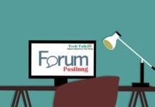 Forum Posting For SEO 2018