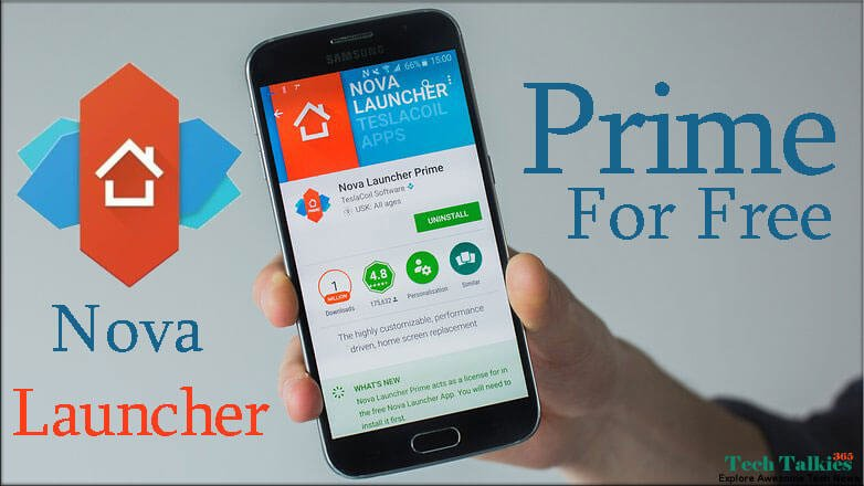 Nova Launcher Prime APK Final For Free + Tesla Unread [Latest]