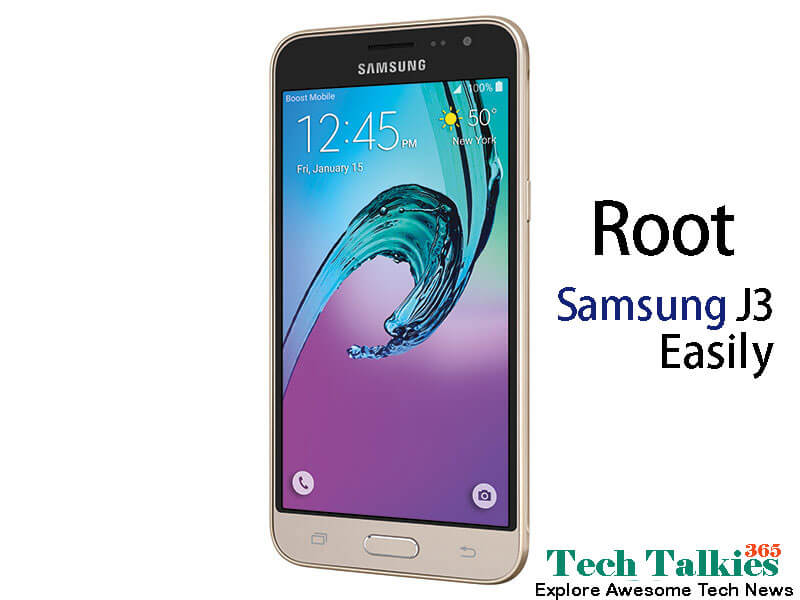 Root Samsung Galaxy J3 without using Pc