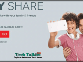 Share your Airtel 3g4g Data With Family & Friends