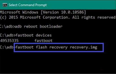 Install TWRP recovery in Oppo F7