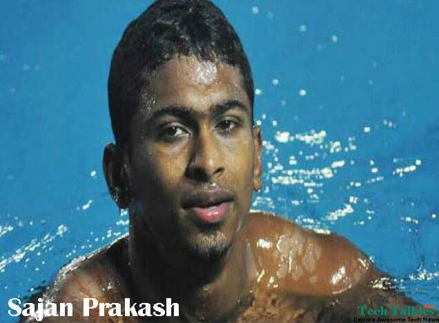 Sajan Prakash Best Olympics Swimmers of India