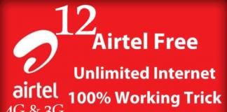 AIRTEL FREE INTERNET 2018 TRICKS