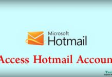Access Hotmail Account