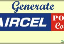 GetAircel Port Code