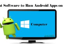 Run Android Apps on PC