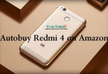 Script Trick to Autobuy Redmi 4 from Amazon and Mi flash Sale in Cart