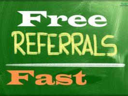 Get Free Referrals Fast