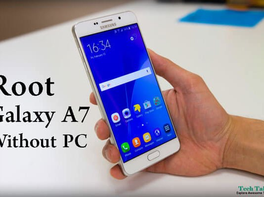 Root Galaxy A7 2017 Without PC