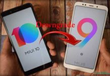 Downgrade Miui 10 to Miui 9 Any Xiaomi Devices