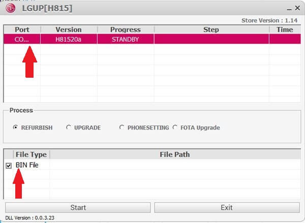 Download Latest Version LGUP Tool  LG Flash Tool for LG Phones on PC