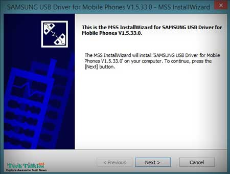 Install Samsung Galaxy S5 USB Drivers on Computer
