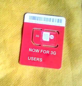 Relience Jio 3G Sim Card Launch Date in India, Registration
